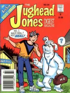 Jughead Jones Digest Magazine, The #84 VF; Archie   save on shipping - details i