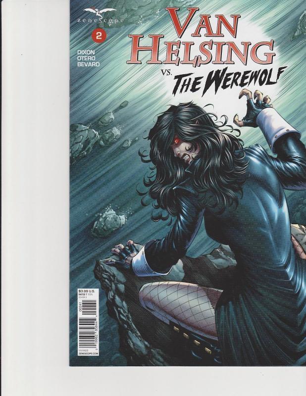 Van Helsing vs Robyn Hood #2 Cover B Zenescope Comic GFT NM Tolibao