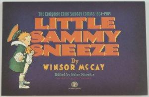 Little Sammy Sneeze: The Complete Color Sunday Comics 1904-1905 HC Winsor McCay