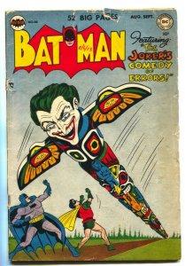 Batman #66 1951- INFAMOUS BONER ISSUE-Joker's Comedy of Errors