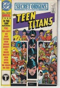 Secret Origins Annual #3 (1989)