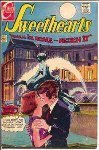 Sweethearts #111 1970-Charlton-When In Rome story-VG