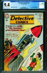 Detective #321 CGC 9.4 1963 BATMAN-BATWOMAN 2039573009