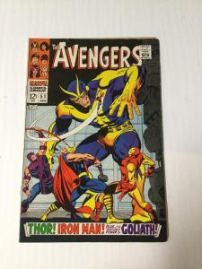 The Avengers 51 Fine Fn 6.0 Silver Age