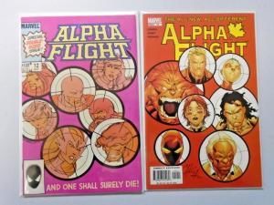 Alpha Flight #12 (1st Series) & #12 (3rd Series) 8.0 VF 2 diff books (1984 2005)