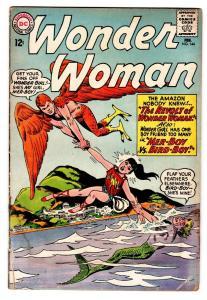 WONDER WOMAN #144-COMIC BOOK WONDER GIRL COVER