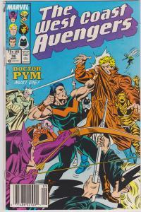 West Coast Avengers #36