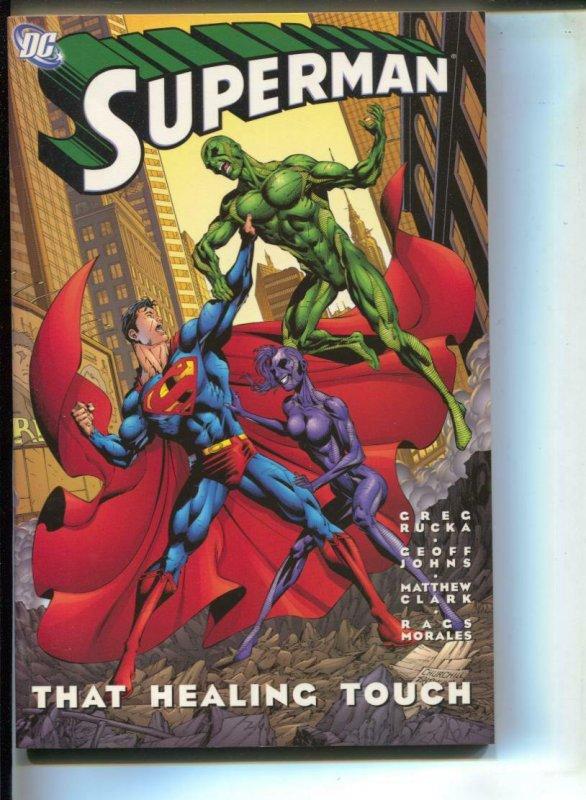 Superman: That Healing Touch-Greg Rucka-TPB-trade