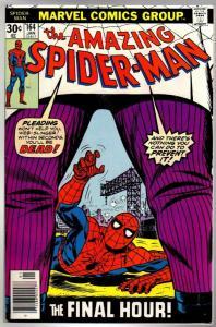 SPIDERMAN 164 FN-  Jan. 1977