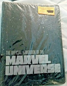 Official Handbook of the Marvel Universe OHOTMU Binder MCU Iron Man NEW SEALED