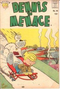 DENNIS THE MENACE  (1953-1979) 40 GOOD Jan. 1960 COMICS BOOK