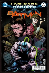 Batman #19 Rebirth (May 2017, DC) 0 9.2 NM-