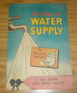 the Story of Water Supply #1 VF american water works association 1969 education