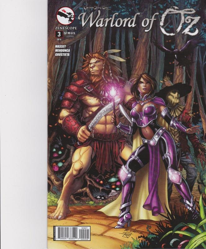 Warlord of Oz #3 Cover B GFT Grimm Fairy Tales Zenescope Comic NM Ortiz