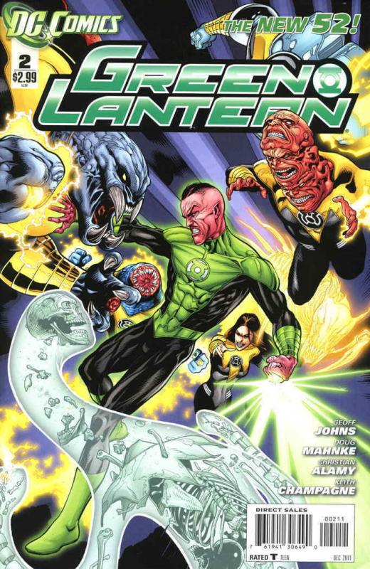 Green Lantern (5th Series) #2 VF/NM; DC | save on shipping - details inside