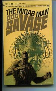 DOC SAVAGE-THE MIDAS MAN-#46-ROBESON-VG-JAMES BAMA COVER-1ST EDITION VG