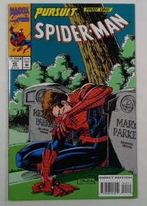 Spider-Man #45 NM- Front/Back Cover Photos Marvel 1994