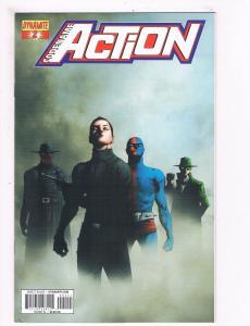 Codename Action # 2 A VF 1st Print Dynamite Comic Book Chris Roberson Series S64