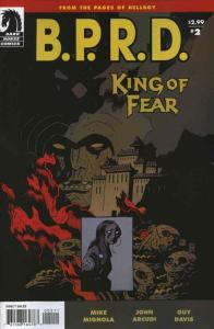 B.P.R.D.: King of Fear #2 VF; Dark Horse | save on shipping - details inside