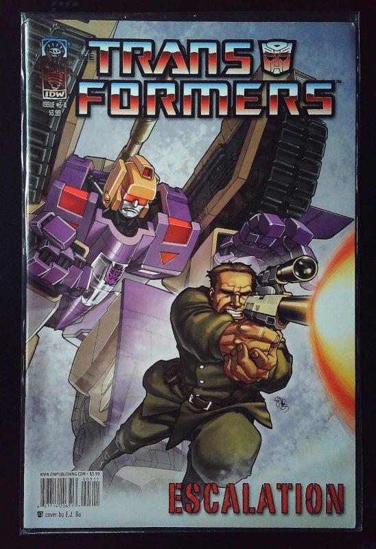 Transformers: Escalation #3 (2007)