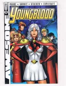 Youngblood #1E VF/NM Awesome Comics Variant Comic Book Moore Feb 1998 DE43 TW14