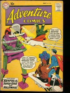 ADVENTURE COMICS #272 1960 DC AQUAMAN KRYPTO SUPERBOY VG-