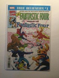 True Believers 1 Fantastic Four versus the Fantastic Four Nm Marvel