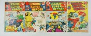Legion of Super-Heroes #1-4 complete series - dc comics superboy set lot 2 3