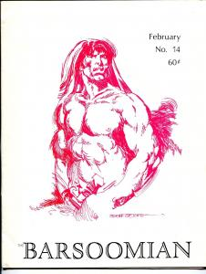 Barsoomian #13 1/1968-Paul C. Allen-ERB-Tarzan-John Carter of Mars-Jeff Jones-VF