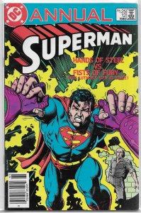 Superman   vol. 1  Annual   #12 VG (1986) Lex Luthor Bates/Saviuk, Bolland cover