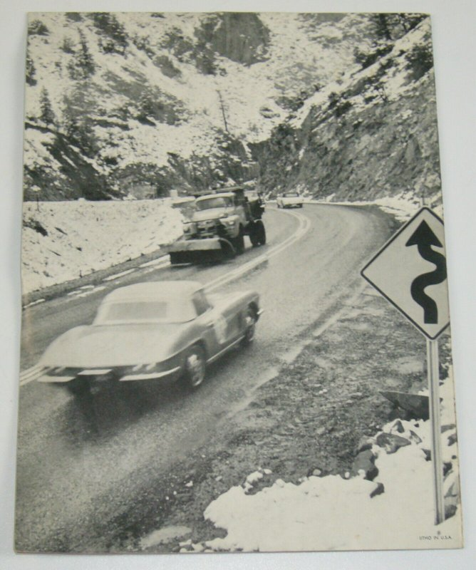 Corvette News For Corvette Enthusiasts vol. 5 #1 FN magazine 1961 manual