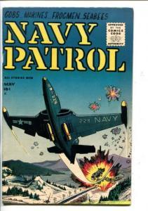 NAVY PATROL #1-1955-BULL HALSEY-JAP NAVY-SOUTHERN STATES-vf
