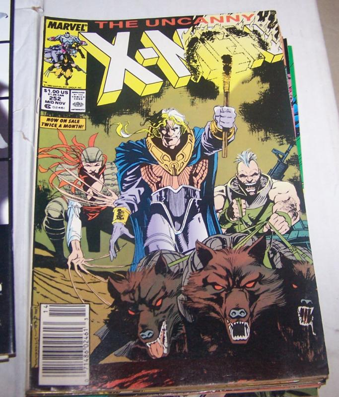 Uncanny X-Men #252 havoc polaris  wolverine jubilee