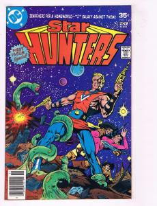 Lot Of 3 Star Hunters DC Comic Books Bronze Age # 1 2 3 Buckler & Layton Art AD9