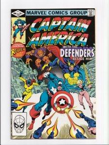 Captain America #268 Defenders Appearance Marvel Comics 1982 NM