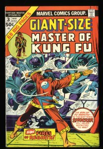 Giant-Size Master of Kung Fu #3 VF/NM 9.0 Tongie Farm Collection