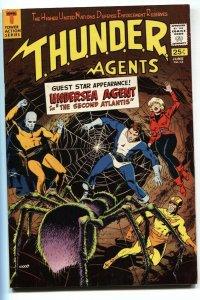 THUNDER Agents #13 1967-Tower Comics-Dynamo-Wood-Raven-VF