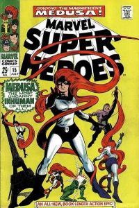 Marvel Super-Heroes (1967 series) #15, Fine- (Stock photo)