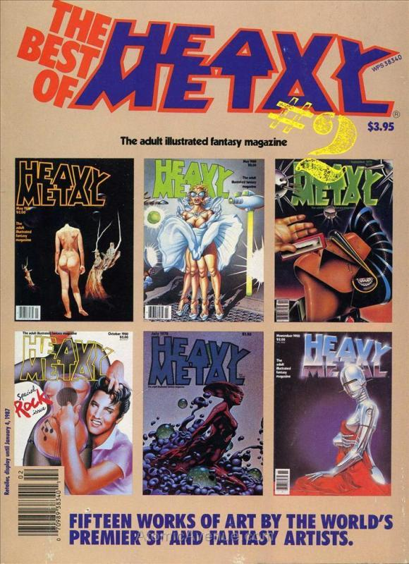 Best of Heavy Metal, The #2A VF/NM HM Communications - save on shipping - detail