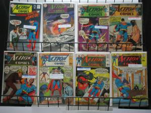 Action Comics (DC 1968-70) #358-390 Lot of 8Diff Superman's Wacky Tales!