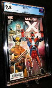 Major X #2 Rob Liefeld / Cable / Wolverine (Marvel, 2019) CGC 9.8 NM/MINT