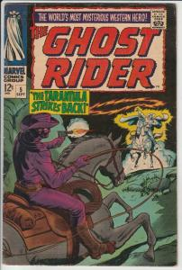 Ghost Rider, The Western #5 (Sep-67) FN/VF+ Mid-High-Grade Ghost Rider