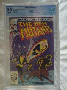 New Mutants #1 - CBCS 9.8 - 2nd Appearance New Mutants