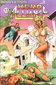 Hero Alliance (Innovation) #12 VF/NM; Innovation   save on shipping - details in