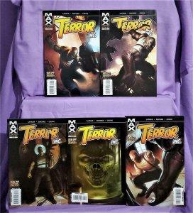 Marvel Max David Lapham TERROR INC #1 - 5 Patrick Zircher (Marvel, 2007)!