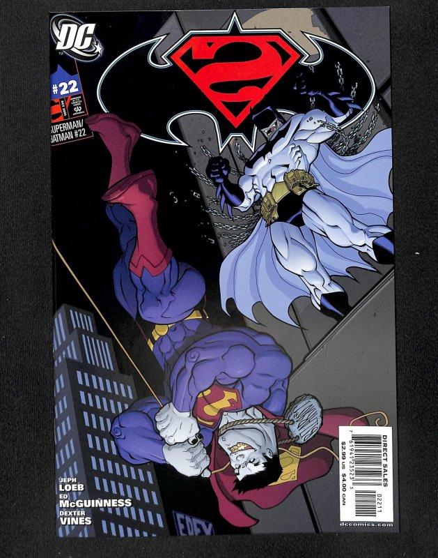 Superman / Batman #22 NM+ 9.6 1st Batman Beyond in Regular DC Continuity!