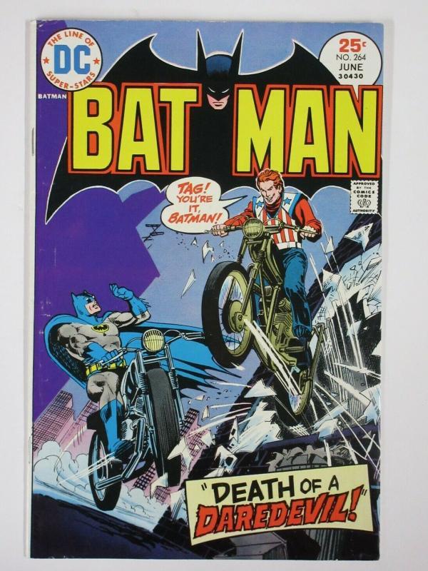 BATMAN 264 VG+  June 1975 COMICS BOOK
