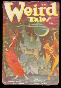 WEIRD TALES MAY 1950-SEABURY QUINN-DOLGOV COVER-BLOCH VG