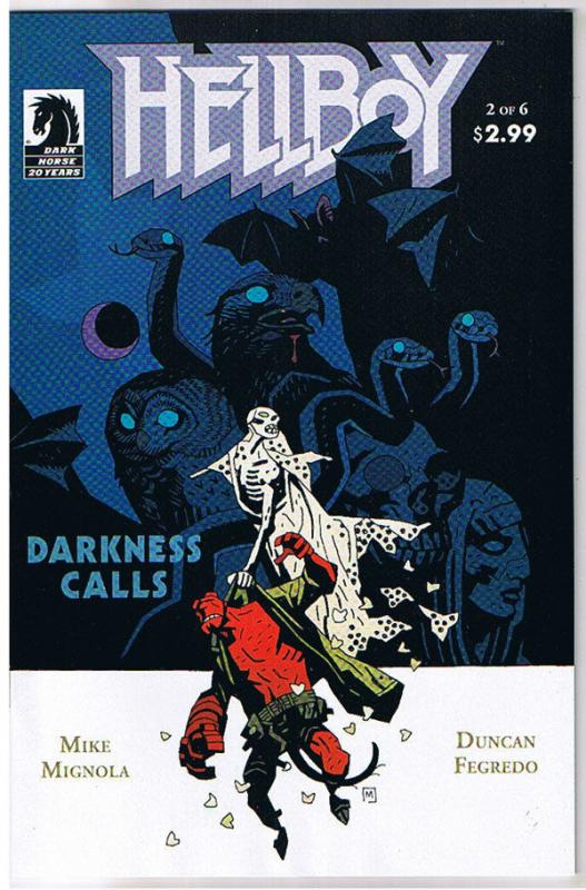 HELLBOY DARKNESS CALLS #2, NM-, Mike Mignola, Duncan Fegredo, 2007,more in store