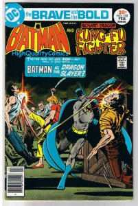 BRAVE and the BOLD #132, VF+, Batman, Kung-Fu Fighter, 1955, more in store